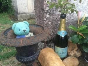 Sagan tombe champagne