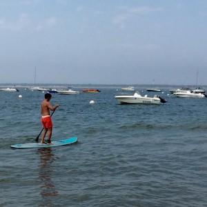 ronan goff sur son paddle