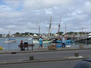 Trinité sur mer. Le port.