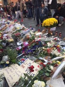 attentat Paris. Ambassade de France. Rome.