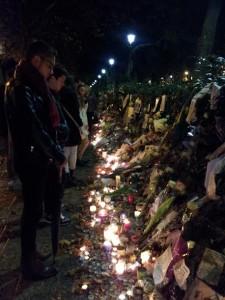 attentat anfilade bougies