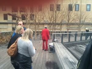 Chaleur New York. Chelsea. Highline.