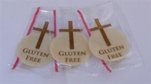 gluten free hosties sans gluten.