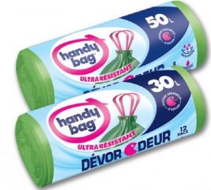 sacs poubelle Dévor odeurs Handy Bag