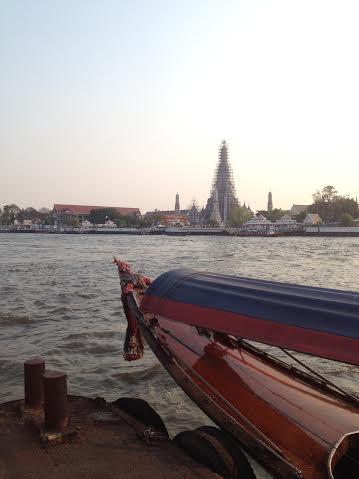 BANGKOK 2 bout du bateau