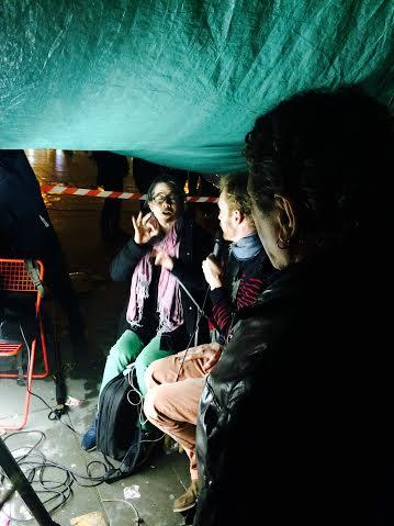 Nuit Debout. TV Debout. Place de la République.