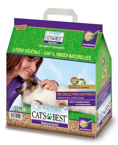 cat's best. litière végétale paquet.