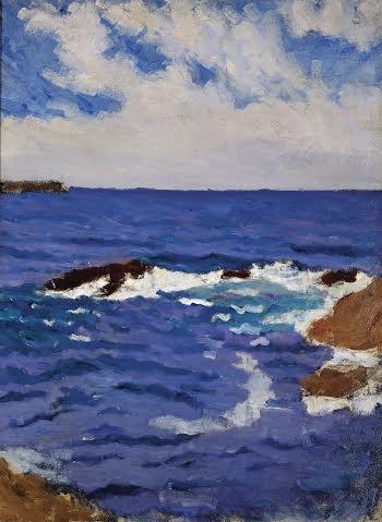 Mer à Belle-Ile. 1902.