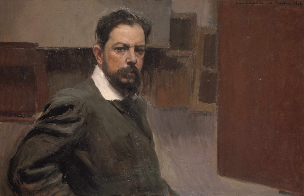 Auto portrait. 1904. Madrid. Museo Sorolla.