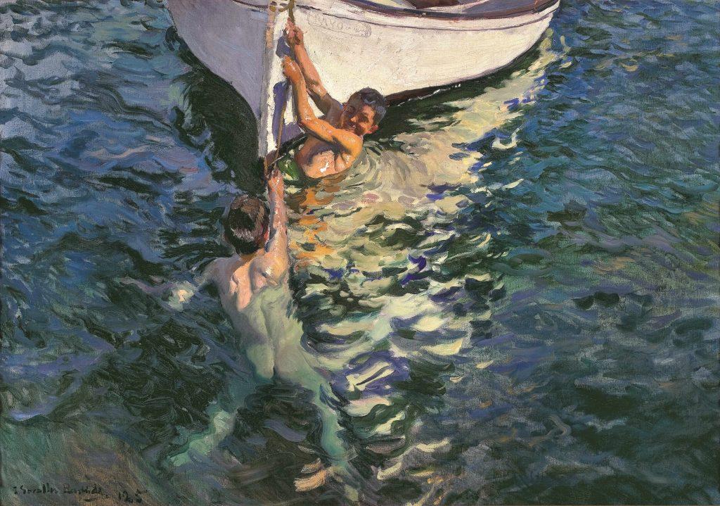 Le bateau Blanc. 1905. Collection particulière