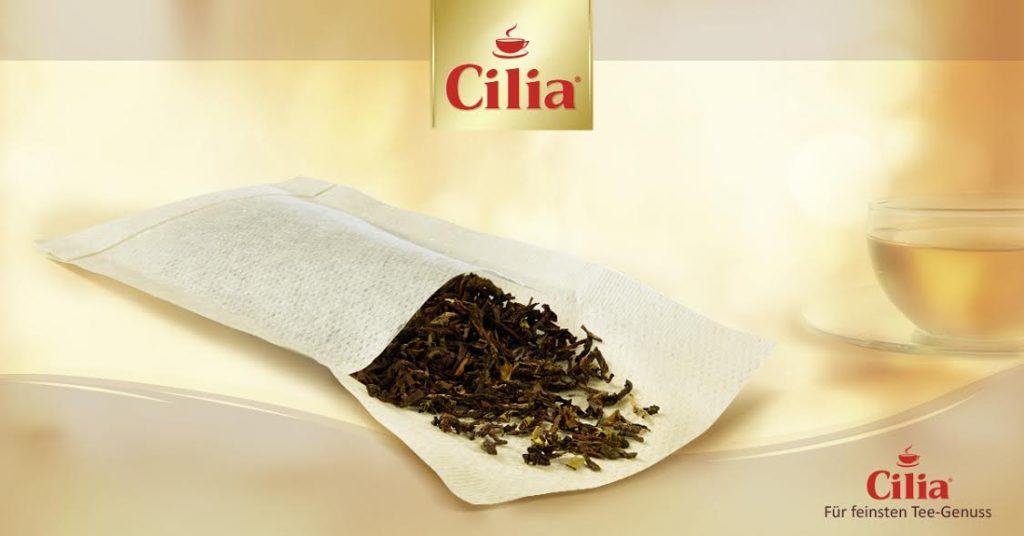 Cilia. Filtres à thé.