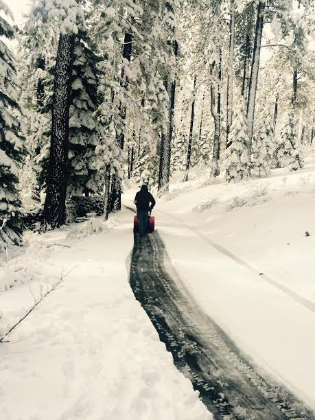 Tahoe chasse neige perso derrière