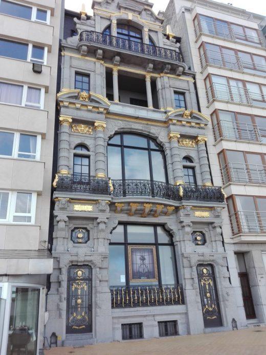 Ostende. Villa Belle Epoque