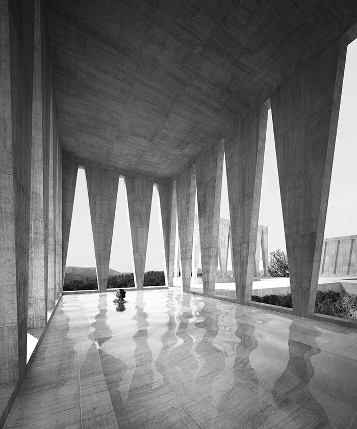 Barozzi Veiga, Solo House, projet conçu pour la collection de résidences secondaires Solo Houses lancée par Christian Bourdais, Solo Gallery, Cretas, Espagne, 2015.