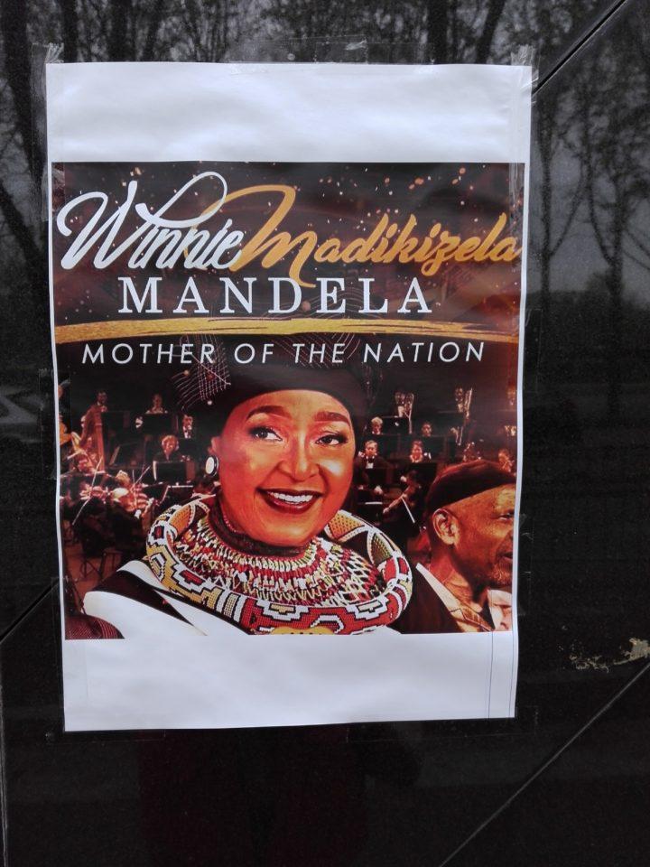 Winnie Mandela. Amabassade sud-Africaine. Isabelle Monrozier pour la Femme qui Marche IMG_20180409_115209