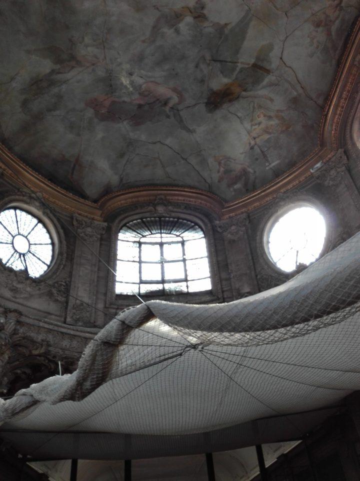 la-femme-qui-marche.Coupole lycée Henri-IV.