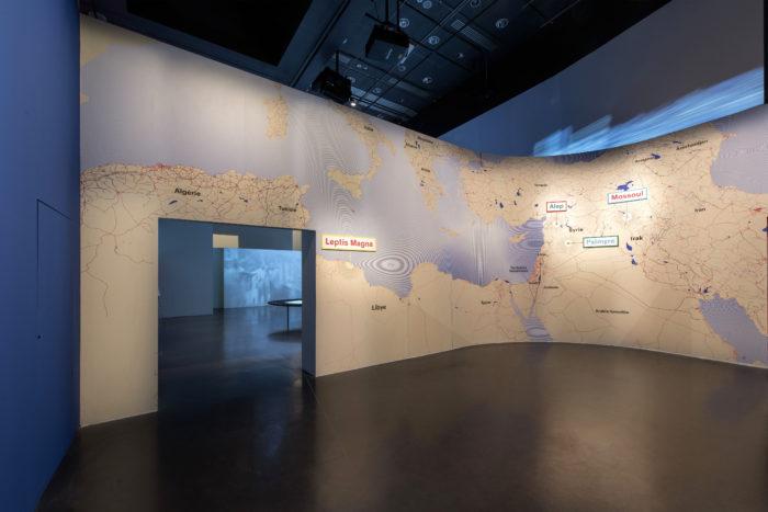 Cités millénaires Voyage virtuel de Palmyre à Mossoul. Du 10 octobre 2018 - 10 février 2019, Institut du monde arabe, Paris.