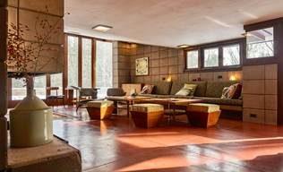 la maison Eppstein. par Franck Lyod Wright – Galesburg, Michigan
