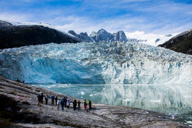 la Femme Qui Marche. Glacier Pia. ventus australis.