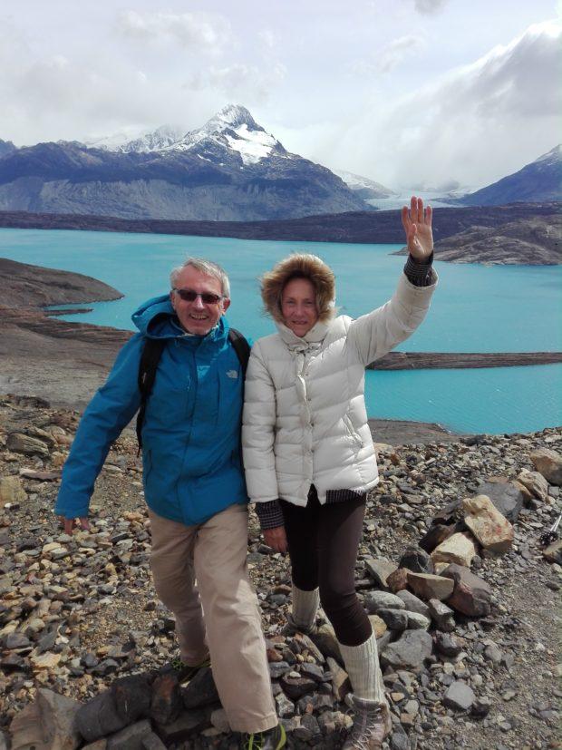 La femme Qui Marche. Glacier Upsala. IMG_20190131_155959