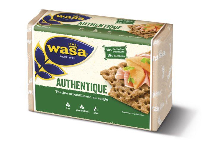 Wasa Authentique 275g 3D - 7300400481595