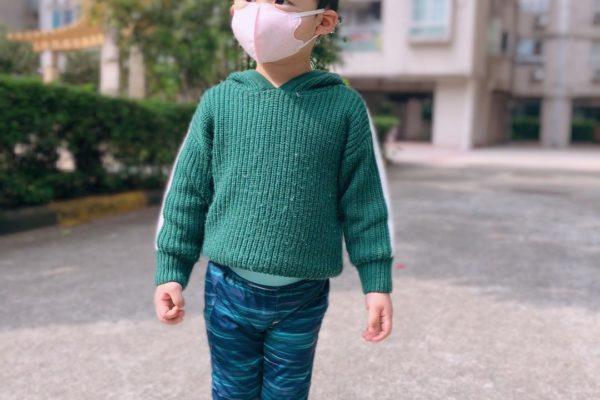 covid19 : les petits chinois portent un masque avant 3 ans.