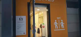 toilettes gratuites dans les gares.